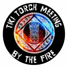 Tiki Torch Meeting By The Fire